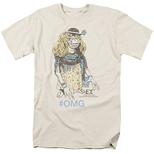 [Et The Extra-Terrestrial Sci-Fi Movie Spielberg Dress Up Adult T-Shirt Tee] (Alien Dress Up Ideas For Kids)