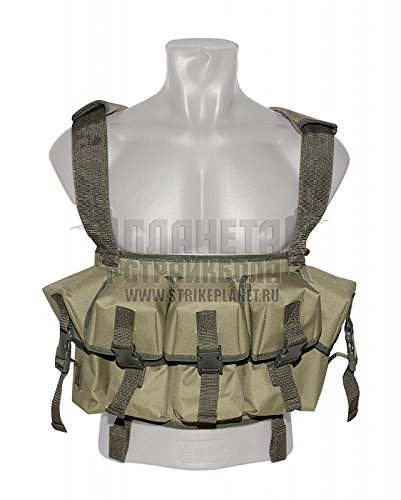 Original Russian army special forces assault vest for Kalashnikov machine Vest Tactical Seal (8AK, 4RSP, IPP)