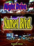 Night Drive: Sunset Blvd. in Los Angele