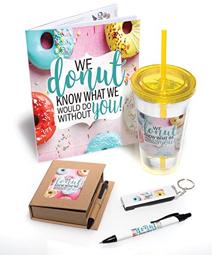 Employee Appreciation We Donut Know What We Would Do Without You 5 Piece Gift Set -