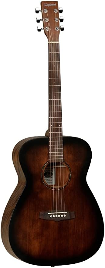 Tanglewood TWCRO - Guitarra acústica folk, color naranja: Amazon ...