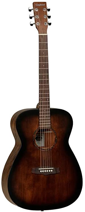 Tanglewood TWCRO - Guitarra acústica folk, color naranja: Amazon.es ...