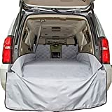 Plush Paws Refined Cargo Liner for Dogs - XL Grey, Waterproof & NonSlip Silicone Backing for Trucks & Suv's