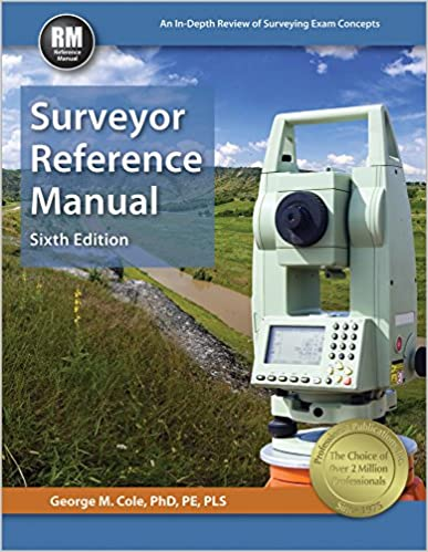 Surveyor reference manual 6th ed george m cole phd pe pls surveyor reference manual 6th ed sixth edition new edition fandeluxe Image collections