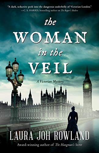 The Woman in the Veil: A Victorian Mystery by [Rowland, Laura Joh]