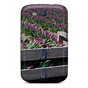 For Galaxy S3 Protector Case Tulips To Go Phone Cover