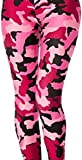 Red Army Camouflage Hip Hop Dance Leggings (One Size (S/M), Red)