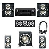 JBL L810 5.1 System, JBL L8400P sub, Denon AVR-X3200W, SOHO Headphones Included