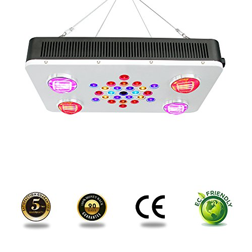 LED Grow Light Dimmable Full Spectrum BloomBeast C525 525w COB 12 Band for Hydroponic Greenhouse Indoor Plants Seedling/ Veg /Flower/Bloom by BloomBeast