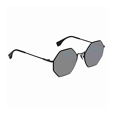 Lunettes de Soleil Fendi EYELINE FF 0292 S BLACK GREY femme  Amazon.fr   Vêtements et accessoires 534de195f3ce