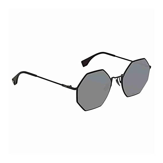 8f0ccc6f4e7 Fendi EYELINE FF 0292 S BLACK GREY women Sunglasses  Amazon.co.uk ...