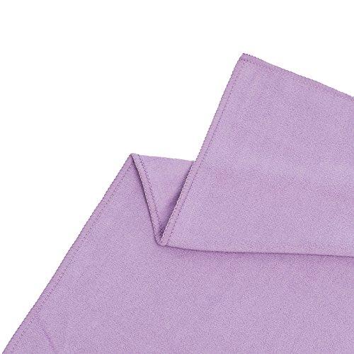 Shandali Gosweat Hot Yoga Towel, Color African Violet