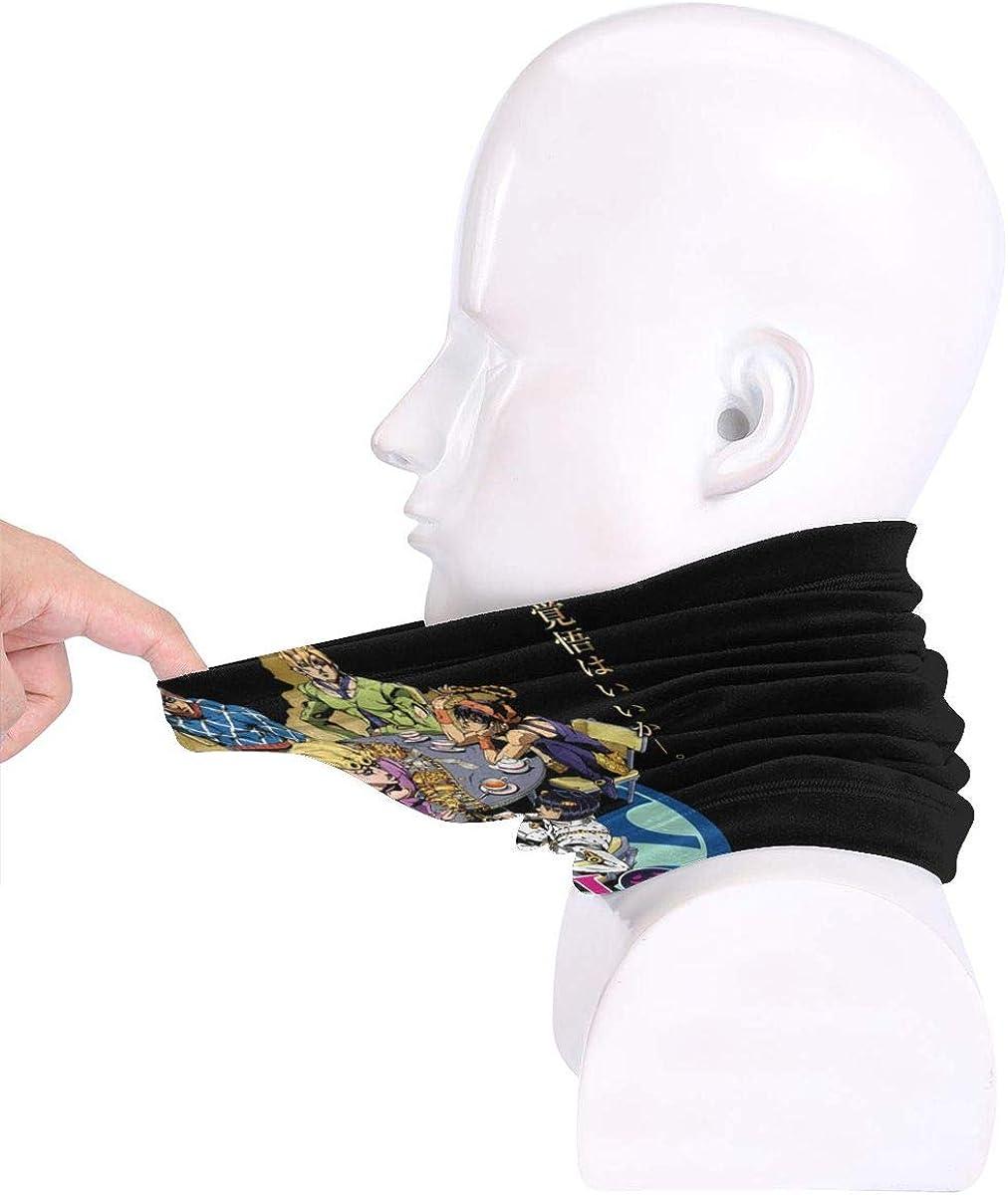 Oh My God!! JoJos Bizarre Adventure Outdoor Face Mouth Mask Windproof Sports Mask Ski Mask Shield Scarf Bandana Men Woman