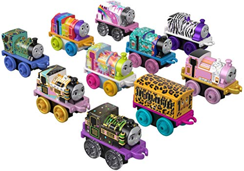 Thomas & Friends Fisher-Price Minis, Stylin' Steamies Toy, Multicolor