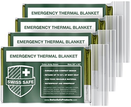 Emergency-Mylar-Thermal-Blankets-4-Pack-BONUS-Signature-Gold-Foil-Space-Blanket-Designed-for-NASA--Perfect-for-Outdoors-Hiking-Survival-Marathons-or-First-Aid