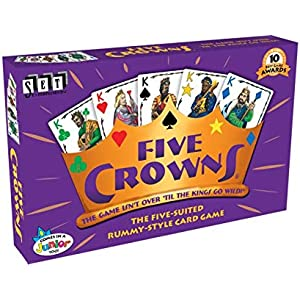 Five Crowns and Karma Card Game Bundle