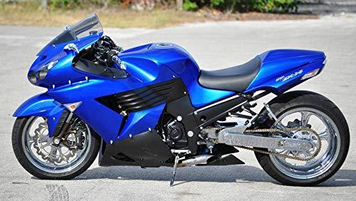 FidgetKute Kit de carenado para Kawasaki Ninja ZX14R 2006 ...