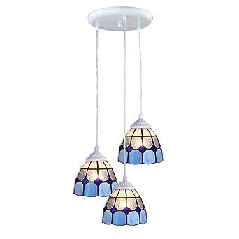 Plafonnier À Têtes Trois Lpd Lampe Led Lustre bvf76Ygy