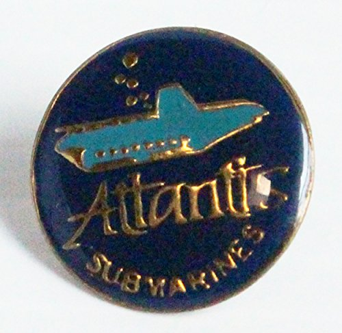 Atlantis Submarine - Atlantis Submarines Promotional Trading Collectible Lapel Pin