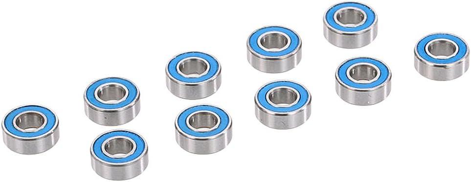 Gazechimp Set de 10 Piezas Axa1221 Rodamientos de Bolas 5x11x4mm para 1/10 Axial Scx10 RC Coche Piezas De Automóvil