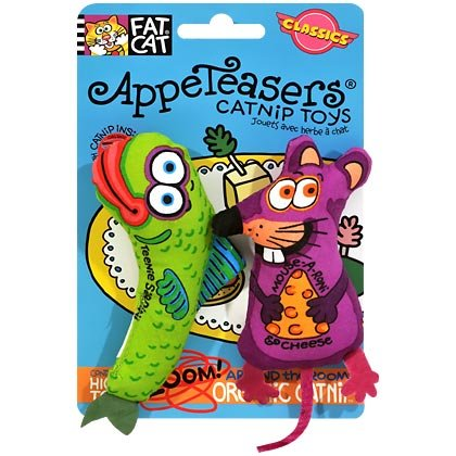 AppeTeasers Plush Catnip Cat Toy, My Pet Supplies