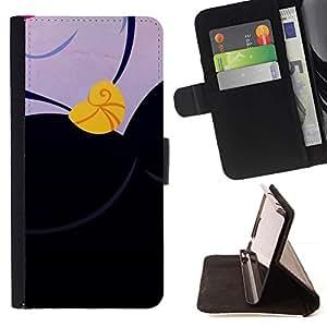 For Apple Apple iPhone 4 / iPhone 4S Case , Dibujo del collar del oro del sueño- la tarjeta de Crédito Slots PU Funda de cuero Monedero caso cubierta de piel
