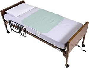 Positioning Bed Pad Patient Repositioning Mattress Draw Underpad Sheet Straps Handles Disability Aids for Hospital Bedridden Lift Moving Patient Elderly Seniors Turner Transfer Sling Home 34