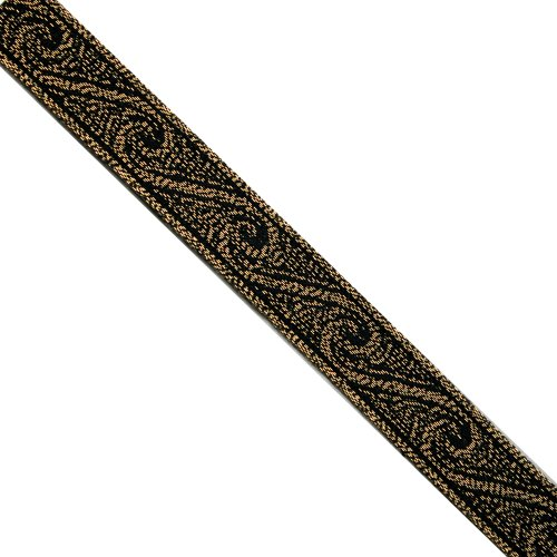 Trim Ribbon Jacquard Metallic (5 yards 9/16