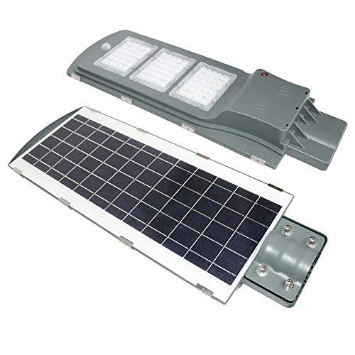 NAIZY Solar straatlamp 60W LED bewegingsmelder Light Waterdicht voor buiten straatverlichting buitenparkeerplaats – 60W…