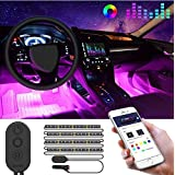 Ambient Star Light car Romantic Auto Roof Star Lights,The Romantic Lighting Environment Multiple Modes Lights for car//Home//Party No Need to Install Red Meteor Shower