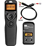 PIXEL FSK 2.4GHz Wireless Shutter Remote Release Control for Sony Micro single Digital Camera a58 NEX-3NL A7 A7R A7II A7RII A75 A3000 A6000 NX300 RX100II