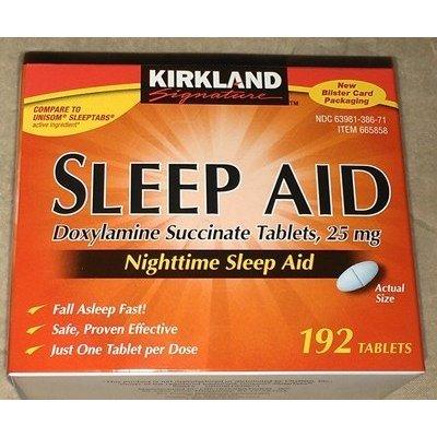 Kirkland Sleep Aid succinate de