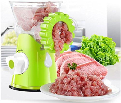 EBDcom Meat Grinders-Manual Meat Grinder Kitchen Hand Crank /Sausage Stuffer /Pasta Maker Excellent