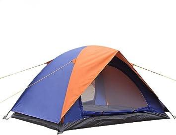 Tienda de campaña al aire libre, Protección contra la lluvia del sol Tienda de viajes de verano-B 2 personas: Amazon.es: Deportes y aire libre