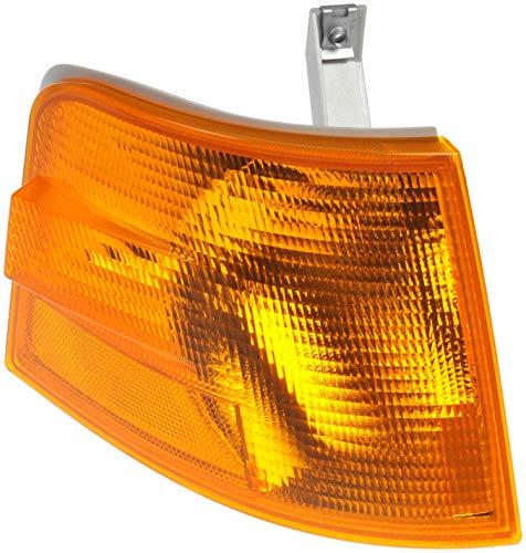 - Dorman 888-5517 Front Passenger Side Turn Signal / Parking / Side Marker Light Lens for Select Volvo Trucks