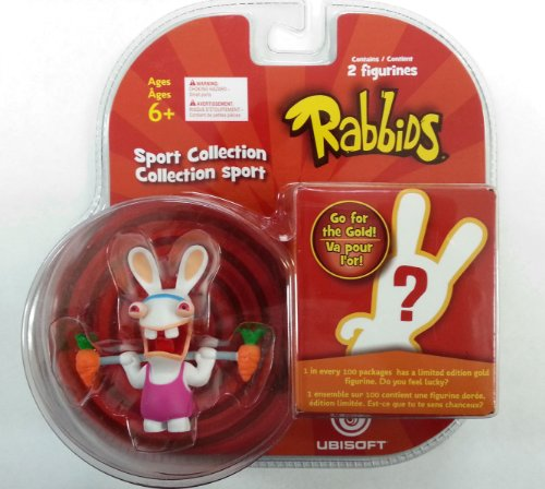 Rabbids in Sports - Weight Lifting Figure / Plus One Mystery Figure