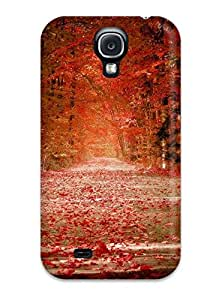 Fashion NjlRbyk25525WcobS Case Cover For Galaxy S4(pretty Fall Photo )