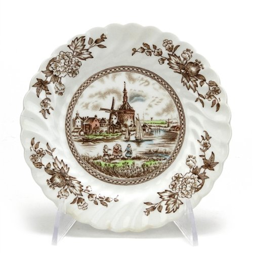 Tulip Time by Johnson Brothers, China Bread & Butter Plate (Johnson Tulip Brothers)