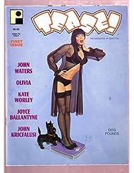TEASE #1 1994- JOYCE BALLANTYNE PIN-UPS GOOD GIRL ART FN/VF