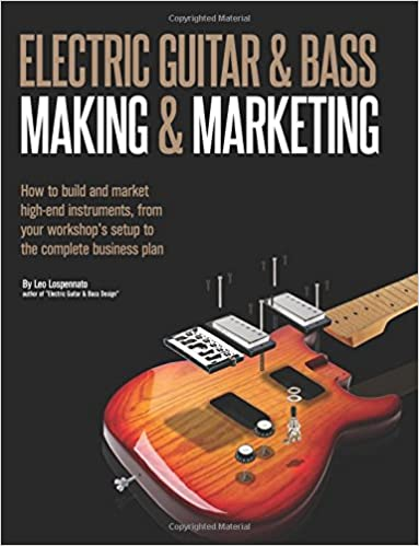 Electric Guitar Making & Marketing: How to build and market high-end instruments, from your workshops setup to the complete business plan: Amazon.es: Leo ...