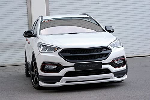 hyundai santa fe sport black amazon com roadruns radiator grille grill with r badge for 2017 hyundai santa fe sport black roadruns radiator grille grill