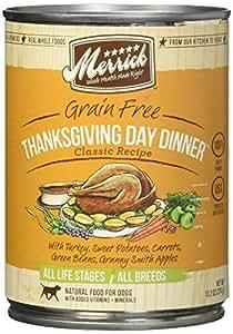 Merrick Classic Grain Free Thanksgiving Day Dinner Canned