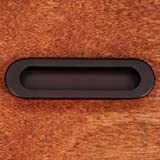 R.K. International CF 5633 RB Rki - Oil Rubbed Bronze Thick Oval Flush Pull