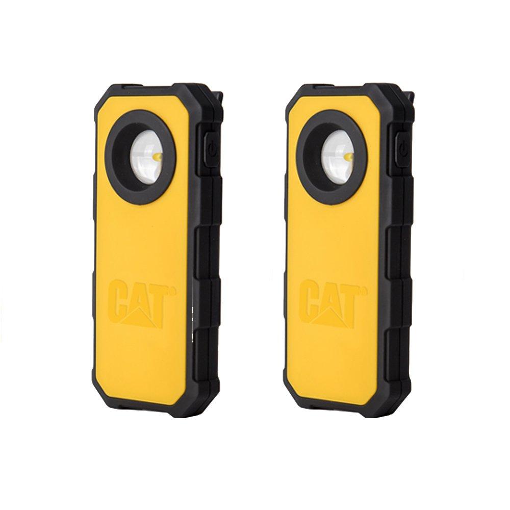 Cat Work Lights CT51202A Pocket Spot/Work Light, 2 Pack, Black/Yellow