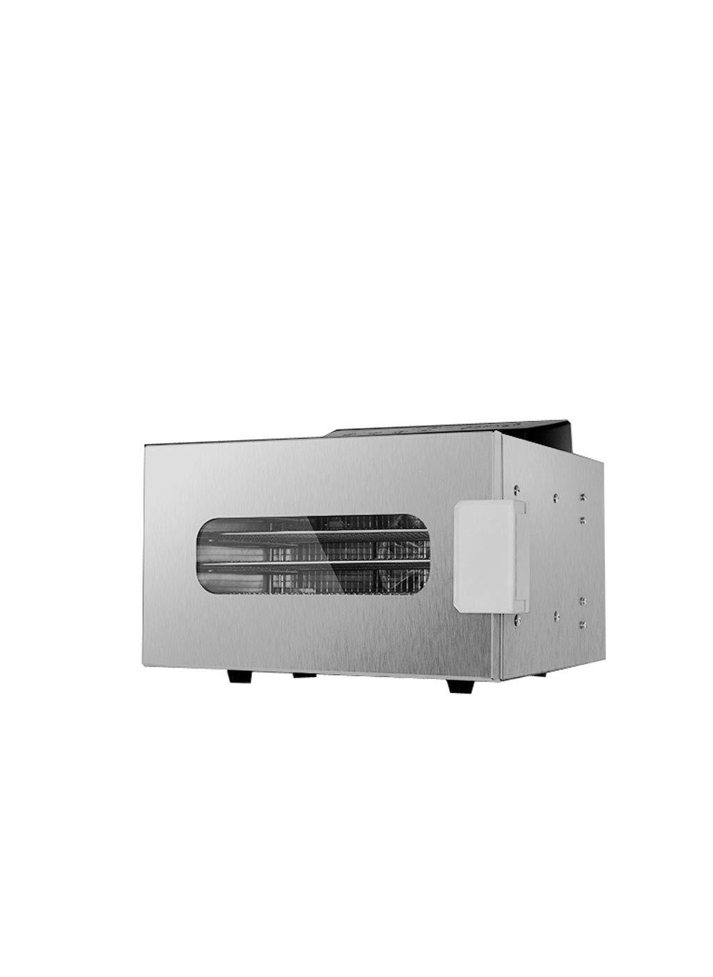 ZHAOHGJ Secador de Frutas, Control de Temperatura Ajustable Programación Sincronización Multifunción Gran Capacidad Grueso Deshidratador de Alimentos de ...