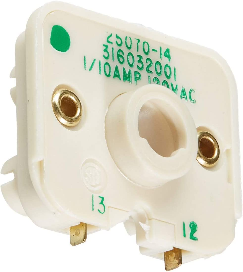 Edgewater Parts 316032001 (4 Pack) Range Spark Switch Compatible With Frigidaire Range