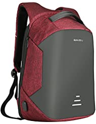 Men Business Backpack 16 inch Laptop Backpack with USB Charging Port College School Bag Daypack