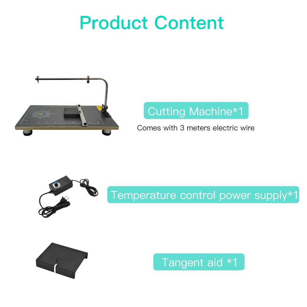 strumento di elaborazione della Tabella di funzionamento della taglierina di polistirolo del cavo multifunzionale della tavola di 220V 30W Tagliatrice della schiuma della Tabella di GDCB
