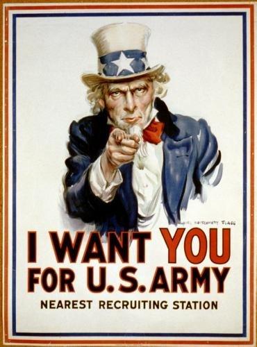POSTERS La propaganda de guerra arte del cartel del tío Sam ...