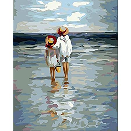 517Ihes6X4L._SS450_ Beach Paintings and Coastal Paintings